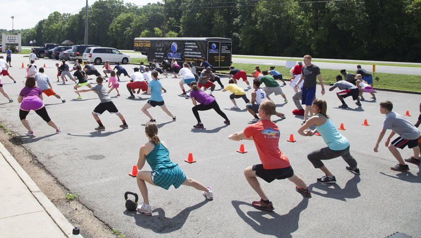 fitness bootcamp madison Al